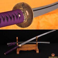 "Handmade Japanese Samurai Sword Katana Damascus Folded Steel Blade Very Sharp41"""