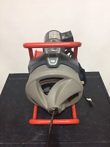 Ridgid Kollmann K-380 115V 1/3HP Drain Cleaner Drum Machine