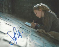 SOPHIE NELISSE SIGNED AUTHENTIC 'THE BOOK THIEF' 8x10 PHOTO D COA ACTRESS PROOF