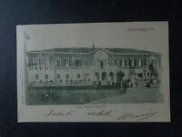 CARTOLINA PARMA SALSOMAGGIORE STABILIMENTO VECCHIO VIAGGIATA 1901 SUBALPINA AAA