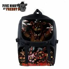 Five Nights At Freddy's Characters Backpack FNAF Unisex School Shoulder Bag