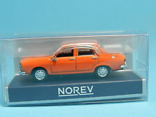 NOREV 511256 RENAULT 12 1974 ORANGE 1:87