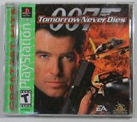 007: Tomorrow Never Dies  (Sony PlayStation 1, 1999)  COMPLETE