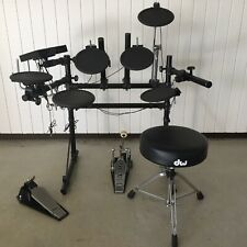 ROLAND TD-5 Electronic Drum Kit w/ Module, TAMA Pedal with DW Stool