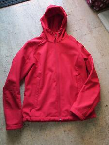Vaude Softshell Jacke Windproof 100, Gr. M/40, rot, sehr guter Zustand