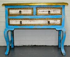 Hall Table Entry Console Statement Dresser Drawer Unit Indian Vintage Rustic
