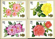 (707) VERY GOOD CLEAN USED SET 1976 ROSES P.H.Q. 16. FDC