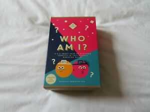 WHO AM I? - guessing card game wearing head bands - see listing