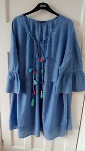 Marks And Spencer Holiday/Beach Dress XL (20-22)