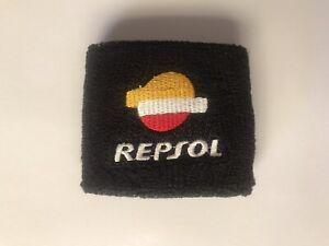 Motorcycle Brake Fluid Reservoir Tank Sock Sleeve Cover For HRC Honda REPSOL CBR