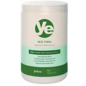 New Form Hair Hydration Normalizing Rinse Conditioner Balm 1Kg - Yellow