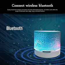 AudioBLUE- Mini Portable Bluetooth Speaker- A9 USB-Sound Subwoofer- Phone-LED