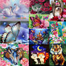 DIY 5D Diamond Painting Embroidery Flower Animal Cross Crafts Stitch Kit Decor