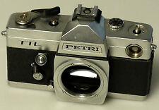 (PRL) PETRI TTL BODY PEZZI RICAMBIO SLR SPARE PARTS FOTORIPARATORE REPAIR KAMERA