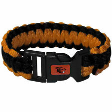 "NCAA Oregon State Survival Bracelet Paracord 9"" Outdoor Survivor Jewelry"