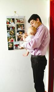 Picture Pockets Medium For 22 Photos Hanging Gallery Frame Display Wall Door