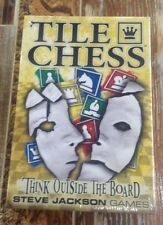 Tile Chess Think Outside the Board New (Sealed)