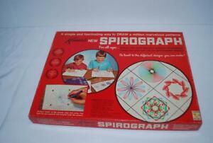 Vintage Kenner Spirograph 1967 Complete in Original Box (1 pen) & Instructions