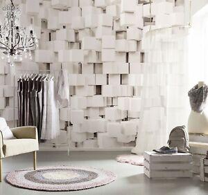 Home interior walls decor Wall Mural photo Wallpaper Gravity Blocks 3D