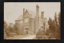 Wistow Vicarage near Selby - real photographic postcard