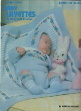 BABY LAYETTES to Knit & Crochet ~ Leisure Arts #125 Marion Graham
