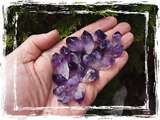 Jewelry Quality Amethyst Points Lot  Natural Dark Purple Crystals from Uruguay
