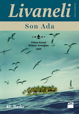 "Turkce Kitap  "" Zulfu Livaneli - SON ADA "" Turkish Book 2015 Registered Mail"