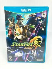 Nintendo Wii U - Star Fox Zero 3 - Versión Japan