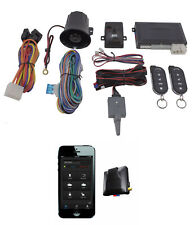 2 Way Car Alarm Anti Theft Security System G5 + G3 Gps Tracking Mobilink