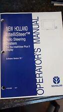 New Holland IntelliView Plus II Display Software Version 16* Operators Manual