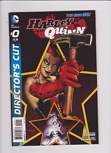 DC Comics! Harley Quinn! Issue 0! Director's Cut!