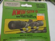 "Kwik-Site Ks-Knight 1"" see-thru Mounts for Modern Muzzel Loader (misc-n0013)"