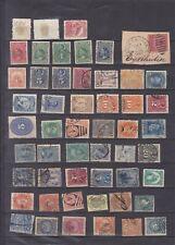 CHILI  HAWAI CUB. BOLIVIE MEXIQUE URUGUAY 52 vieux  timbres obliteres cote ??