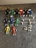 Bootleg Mega Rangers Power Ranges Style Vintage Figure Toy Bundle Lot 90s