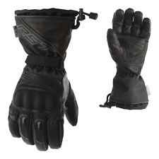 RST PARAGON 2020 Waterproof CE Black Leather Winter Visor Wipe Motorcycle Gloves