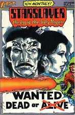 Starslayer 8. First Comics 1983.  SF45