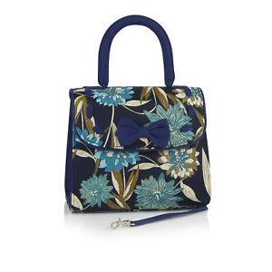 Ruby Shoo Blue Santiago Bag (Matches Willow, Iris & Phyllis Shoes)