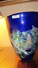 Waterford Evolution Robert Held Crucible Bowl NIB-MSRP $5000-Royal Blue