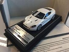Tecnomodel 1/43 - Aston Martin DBS Status White w/ Silver Wheels