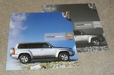 Nissan Patrol Brochure 2007-2008 3.0 Trek / Aventura With Specification Guide