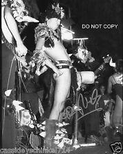 "Dave Brockie singer of GWAR band Reprint Signed 8x10"" Photo #1 RP Holliston"