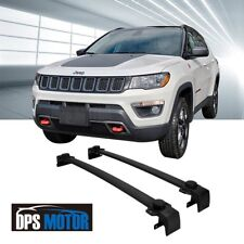 OE Style Black Roof Rail Rack Cross Bar Luggage Carrier For 2017-18 Jeep Compass