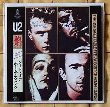 "U2 rare JAPAN 7"" vinyl The Unforgettable Fire 45 giri BONO"