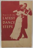 How To Do The Latest Dance Steps 1947 Vintage Booklet Instructional Brochure