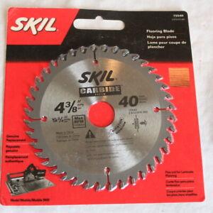 "Skil Carbide Flooring Blade 75540 4-3/8"" x 40 Teeth"
