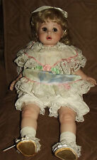 PORCELAIN DOLL 25 INCH TARA SIGNED CHUBBY BABY TODDLER DOLL