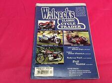 WALNECK'S CLASSIC TRADER MOTORCYCLE MAGAZINE 2001 NORTON BULTACO GT 750 (Y316)