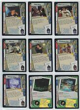 X-Files Premiere TCG  CCG 1996 Trading card singles RARES.