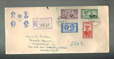 1947 Bechuanaland Lobatsi Royal Visit Cover to Kapstad