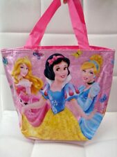 Princess Cinderella Snow White Lunch Food Carry Dining Pouch Handbag Bag Gift